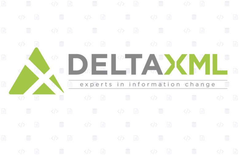 Deltaxml logo tedxmalvern 2020 sponsor